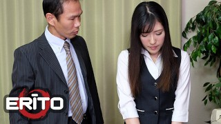 Japanese XXX :Erito  Sexy Japanese Secretary Gets Creampied By Her Boss At The Office